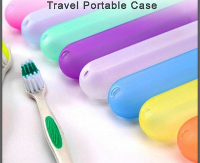 0785 Plastic Hygienic Toothbrush Travel Portable Case - DeoDap