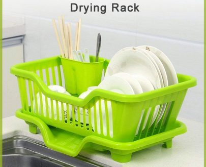 0607 Plastic Sink Dish Drainer Drying Rack - DeoDap