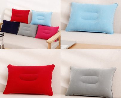 Inflatable Air Pillow (Random Color)