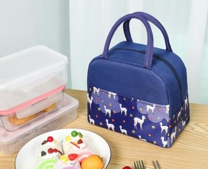 Insulated Lunch Bag 101 - Navy Blue
