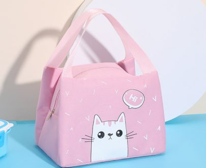 Insulated Lunch Bag - 102 - Light Pink