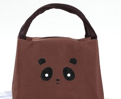 Kids Insulated Lunch Bag Bear- 362 (Brown)