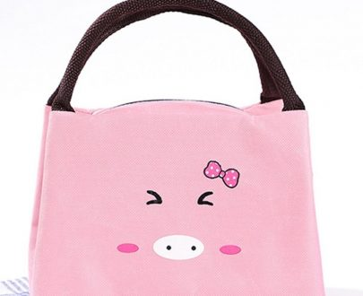 Kids Insulated Lunch Bag Kitty - 362 (Pink)