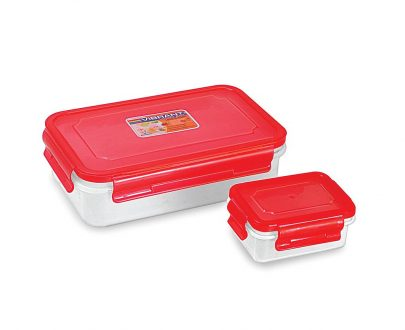 Lock N Tight Vibrant 850 Ml Lunch Box