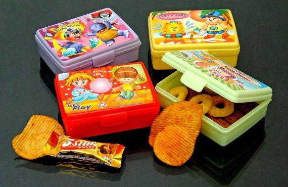 Lays Kids Lunch Box (2Pcs Set)