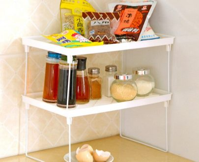 Multifunctional Folding Shelves Storage Accessories Decorative Wall Shelves (Pack Of 2)