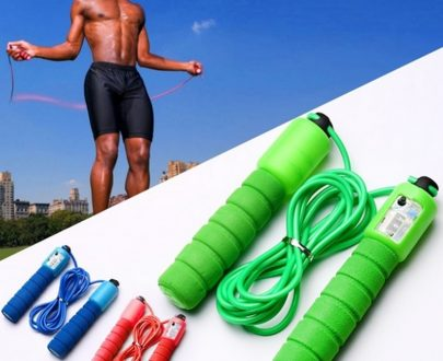 Professional Counting Skipping Rope (Random Color)