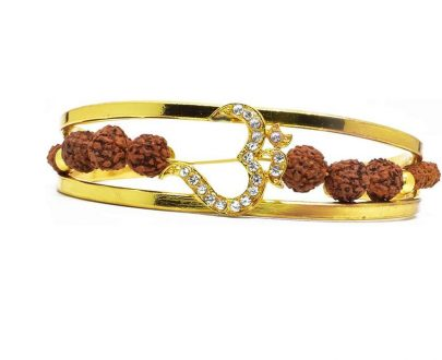 RK04- Unique & Stylish Brass Gold Plated Bracelet for Men / Women (RK04) - DeoDap