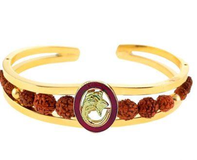 RK06- Unique & Stylish Brass Gold Plated Bracelet for Men / Women (RK06) - DeoDap