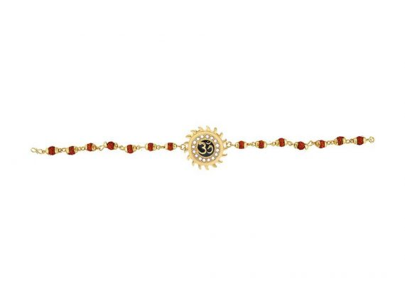 RK07- Unique & Stylish Brass Gold Plated Bracelet for Men / Women (RK07) - DeoDap