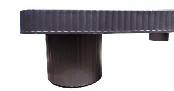 0824 Heavy Duty Universal Refrigerator Stand Double Single Door Stand - DeoDap