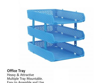 0329 Foldable Tray Desk Organizer File Tray, Office Files, Letter Tray, Magazine Holder Rack, Document Tray, for Home Study Room Office, Stationery - DeoDap