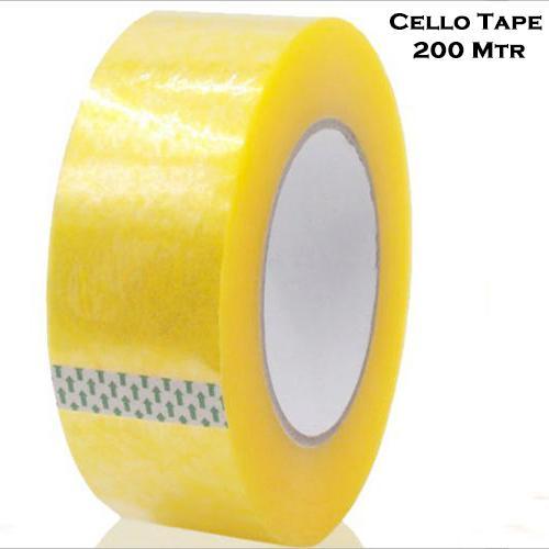 1538 Self Adhesive Transparent Packing Tape- 200 metres - DeoDap