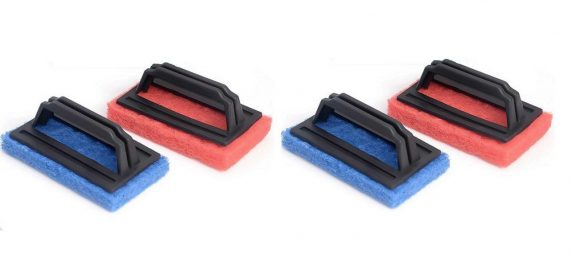 3408 Tile cleaning multipurpose scrubber Brush with handle - DeoDap