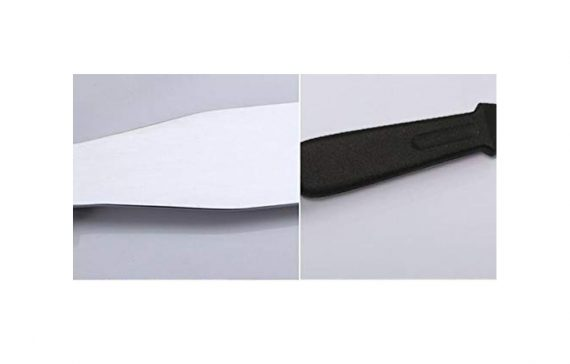 0807 Stainless Steel Palette Knife Offset Spatula for Spreading and Smoothing Icing Frosting of Cake 16 Inch - DeoDap