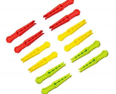 0335 Multipurpose Plastic Cloth Hanging Pegs/Clips - 36 pcs - DeoDap