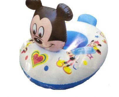 Mickey Kids Swimming Ring Seat Boat (Random)