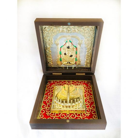 Venkatesaya God Footprints Box