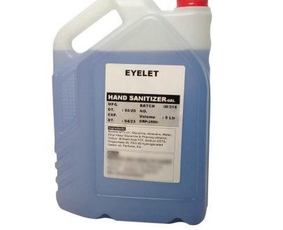 0359 Eyelet Hand Sanitizer-Gel 5 Litre - DeoDap