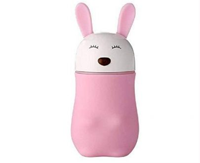 0361 Lovely Rabbit Air Humidifier USB Aroma Diffuse with LED Lamp Mini Ultrasonic Cool Mist Maker Fugger for Office Car Air Purifier - DeoDap