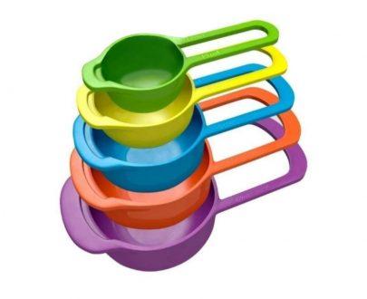 0783 Big Plastic Measuring Spoons - Set of 5 - DeoDap