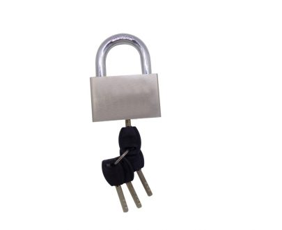 0535 Shackle Padlock With Keys 70 mm - DeoDap
