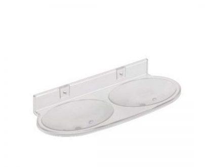 0506 Double Soap Dish Bathroom Soap Holder - DeoDap