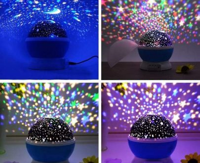 1234 Colour Changing Good Night Star Master Rotating Projection Night Lamp - DeoDap