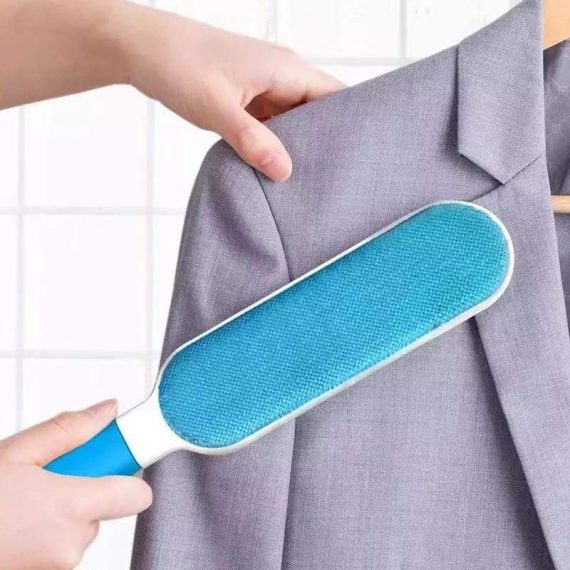 1241 Pet Hair Remover Multi-Purpose Double Sided Self-Cleaning and Reusable Pet Fur Remover - DeoDap