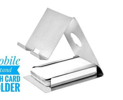 0622 Mobile Phone Metal Stand (Silver) - DeoDap