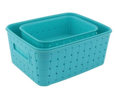 0062 Smart Baskets for Storage(Set of 3) - DeoDap