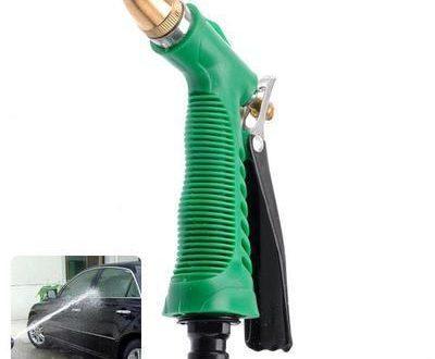 0590 Durable Hose Nozzle Water Lever Spray Gun - DeoDap