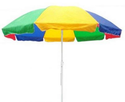 1276 Sun Protection Water Proof Fabric Polyester Garden Umbrella for Beach, Lawn - DeoDap