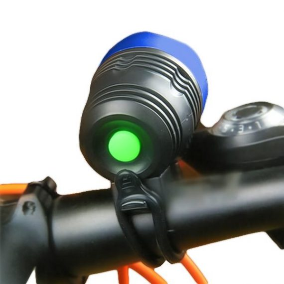 0562 Bicycle Front Light  Zoomable LED Warning Lamp Torch Headlight Safety Bike Light - DeoDap