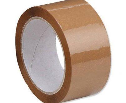 0948 Brown Packing Tape (Plain Tape 65 Meters 41 Micron) - 1 Pcs - DeoDap