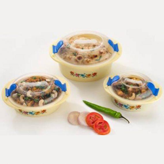 2162 Hot N Fresh Insulated Plastic Casserole Gift Set (3 Pieces) - DeoDap