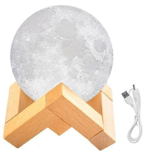1205 3D Moonligt Lamp with Touch Control Adjust - DeoDap