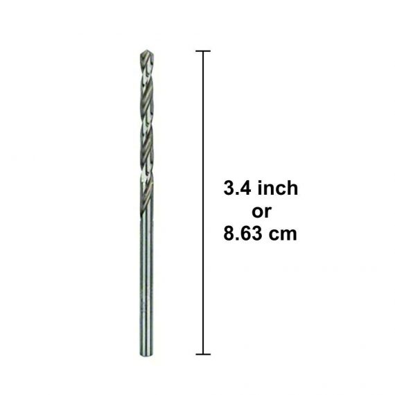 1515 5mm Metric Steel Extremely Heat Resistant Twist Drill Bit - DeoDap