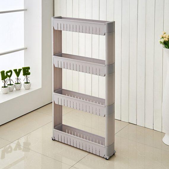 4 Tier Kitchen Rack (Grey)