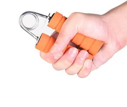 0856 Hand Gripper for arm Exerciser Wrist Fitness Foam Hand Grip - DeoDap