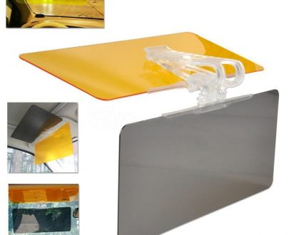 0547 Anti-Glare HD Car Sun Vision Visor Eyes Protector - DeoDap