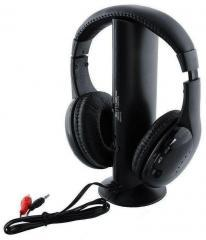 0624 Roaming Wireless Over-Ear Headphones (Black) - DeoDap