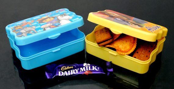 Mid Day Kids Lunch Box (2Pcs Set)