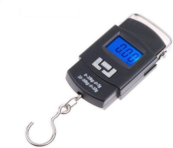 0549 Digital Portable Hook Type Weighing Scale (50 kg, Multicolor) - DeoDap
