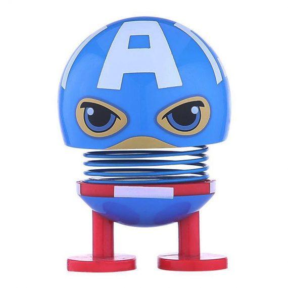 0857 Superhero figure Spring doll - DeoDap