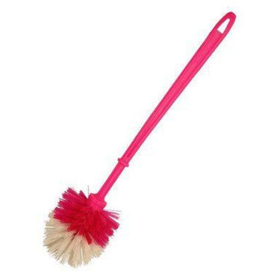 1293 Plastic Round Toilet Cleaner Brush - DeoDap