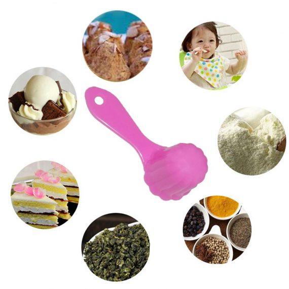 1067 Plastic Sweets Ladoo Mould Measuring Spoon - DeoDap
